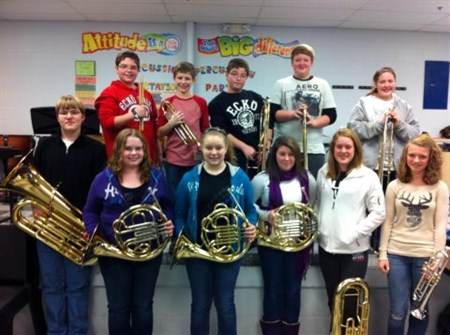ELEVEN GCMS STUDENTS CHOSEN FOR NORTHERN KENTUCKY SELECT BAND!