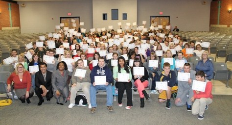 260 GCHS STUDENTS RECEIVE DIGITAL LITERACY & RESPONSIBILITY CERTIFICATION
