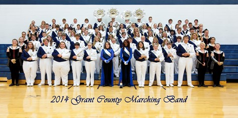 GC MARCHING BAND INDUCTED INTO GRANT COUNTY SCHOOLS HALL OF FAME!