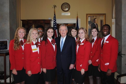 GRANT COUNTY'S HAYLEY LEACH REPRESENTS KENTUCKY AT NATIONAL FCCLA EVENT
