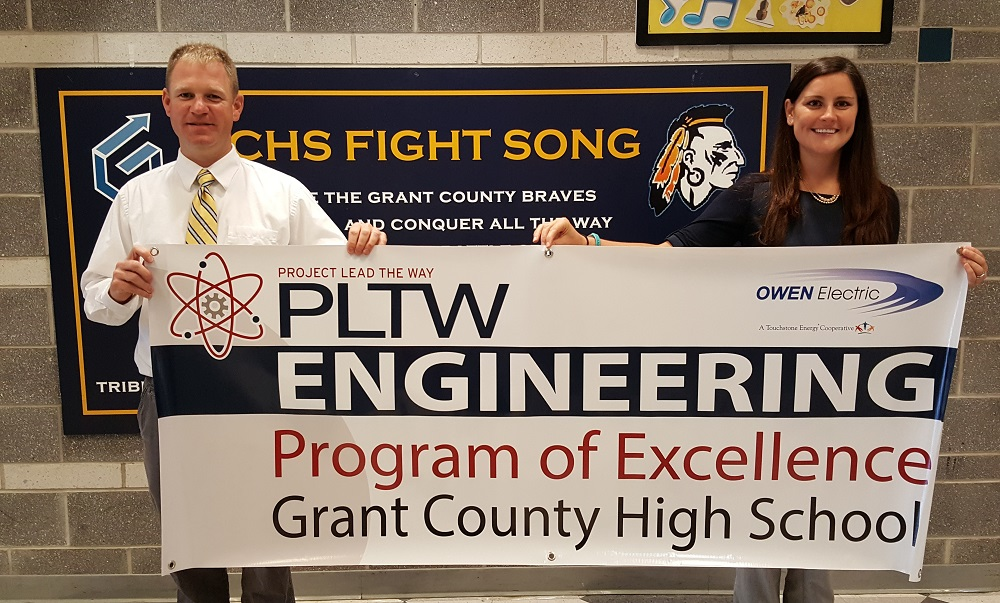 "GCHS ENGINEERING PROGRAM NAMED PROJECT LEAD THE WAY ""PROGRAM OF EXCELLENCE"""