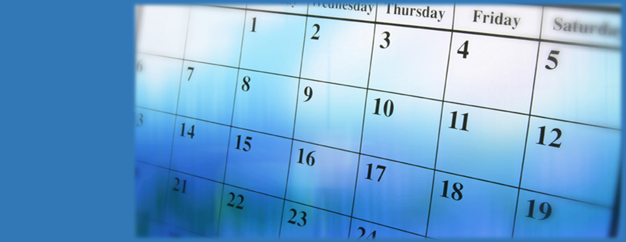 2019-2020 SCHOOL CALENDAR IS CURRENTLY BEING DEVELOPED